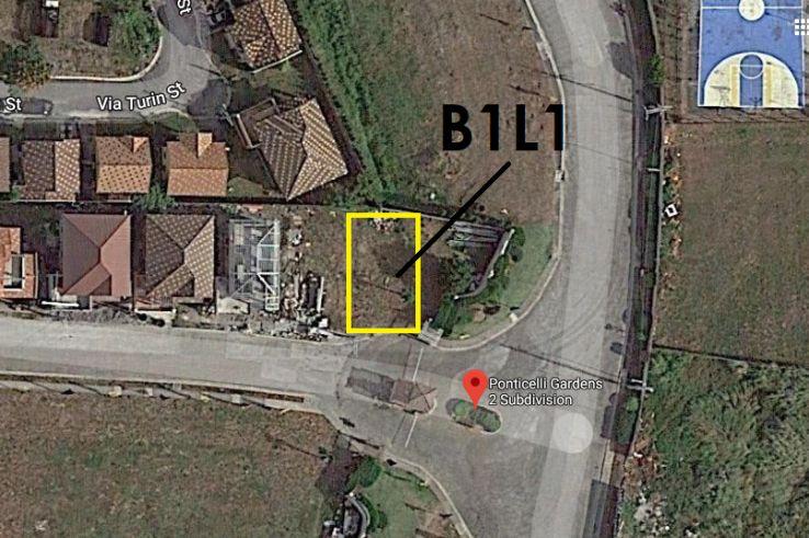 Lot for Sale in Ponticelli Gardens 2, Daang Hari Bacoor Cavite