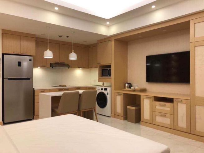 Studio condo unit for Sale in The Venice Luxury Residences, Mckinley Hill Taguig City (3)