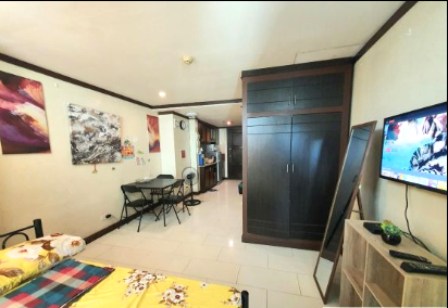 Studio type unit for rent in SCANDIC PALACE SUITES, Makati Metro Manila (1)