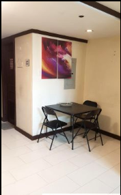 Studio type unit for rent in SCANDIC PALACE SUITES, Makati Metro Manila (5)